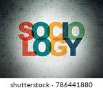 education concept  painted... | Shutterstock . vector #786441880