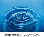 drop of clean water   Shutterstock . vector #786446698