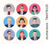 businessmen people characters... | Shutterstock .eps vector #786478120