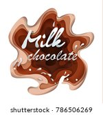 to illustrate vector chocolate...   Shutterstock .eps vector #786506269
