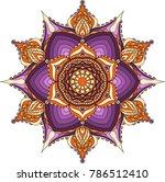 mandala  vector mandala.... | Shutterstock .eps vector #786512410