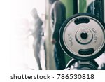 physical activity in the gym | Shutterstock . vector #786530818