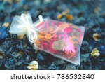 potpourri is a mixture of dried ... | Shutterstock . vector #786532840