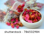 potpourri is a mixture of dried ... | Shutterstock . vector #786532984