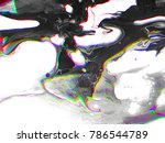 Abstract Art Background. Glitc...