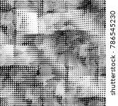 seamless pattern halftone... | Shutterstock . vector #786545230