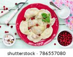 homemade traditional russian...   Shutterstock . vector #786557080