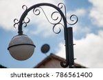streetlamp in cusco | Shutterstock . vector #786561400
