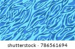 illustration  ripple water in... | Shutterstock .eps vector #786561694