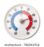 thermometer with celsius scale... | Shutterstock . vector #786561916