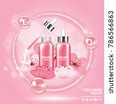 sukura   cherry blossom...   Shutterstock .eps vector #786566863