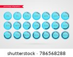 0 5 10 15 20 25 30 35 40 45 50... | Shutterstock .eps vector #786568288