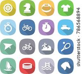 flat vector icon set   target... | Shutterstock .eps vector #786568894