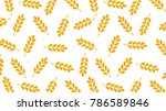 rice pattern vector. free space ... | Shutterstock .eps vector #786589846