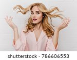 close up portrait of wonderful... | Shutterstock . vector #786606553