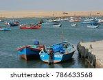 paracas  ica  peru   circa 2012 ... | Shutterstock . vector #786633568
