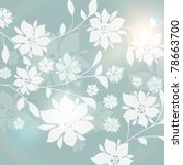 seamless floral background | Shutterstock .eps vector #78663700