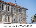 croatia building house stone...