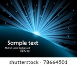 vector abstract illustration of ... | Shutterstock .eps vector #78664501