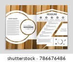 abstract vector layout... | Shutterstock .eps vector #786676486