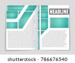 abstract vector layout... | Shutterstock .eps vector #786676540