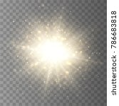 star burst with dust and... | Shutterstock .eps vector #786683818