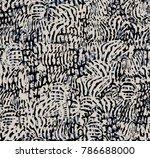 pattern african design.... | Shutterstock . vector #786688000