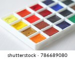 watercolors  brushes for...   Shutterstock . vector #786689080