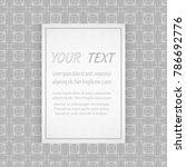 card  invitation  cover... | Shutterstock .eps vector #786692776
