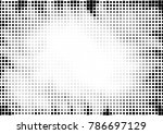 dotted halftone background.... | Shutterstock .eps vector #786697129