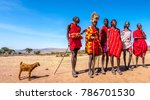 africa kenya. residents of the... | Shutterstock . vector #786701530