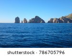 scene of cabo san lucas from a... | Shutterstock . vector #786705796