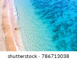 man fishing with fishing pole... | Shutterstock . vector #786713038