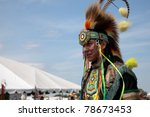 brooklyn  ny   june 4  powwow... | Shutterstock . vector #78673453