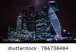 moscow international business... | Shutterstock . vector #786738484