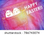 Funny Eggs Are Celebrating And...