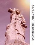 depiction of the blessed virgin ... | Shutterstock . vector #786774799