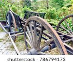 old transportation in cambodia   Shutterstock . vector #786794173