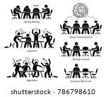 executives having ineffective... | Shutterstock . vector #786798610