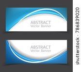 vector abstract design banner... | Shutterstock .eps vector #786839020