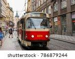prague  czech republic   june...   Shutterstock . vector #786879244