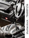 steering wheel lock. auto...   Shutterstock . vector #786889156