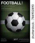 soccer football poster vestor... | Shutterstock .eps vector #786902890