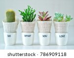 do what you love  love what you ... | Shutterstock . vector #786909118