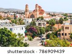 View Of Paphos With The...