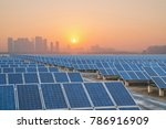 solar power generation in china | Shutterstock . vector #786916909