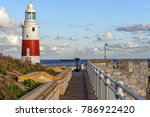 lighthouse at europa point in... | Shutterstock . vector #786922420