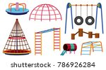 different types of play... | Shutterstock .eps vector #786926284
