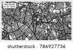 sao paulo brazil city map in... | Shutterstock .eps vector #786927736