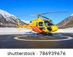 samedan switzerlad  hb zmu... | Shutterstock . vector #786939676